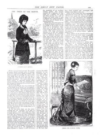 Figure 5'Dress for Evening Wear', in 'The Dress of the Month', The Girl's Own Paper 1 (27 March 1880): 201 (Lutterworth Press)